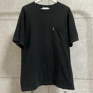 アニエスベー(agnes b.)のagnes b. アニエスベー ポケットTシャツ 黒 希少 モード ストリート(Tシャツ/カットソー(半袖/袖なし))