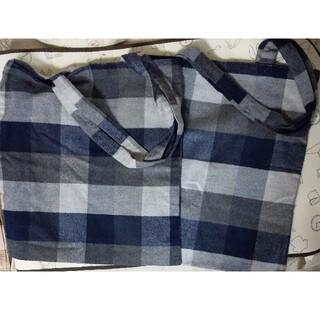ムジルシリョウヒン(MUJI (無印良品))の新品 無印良品エコバッグ2個セット(エコバッグ)