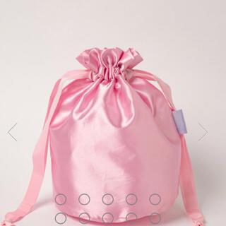 ラドロー(LUDLOW)のセツコサジテール インナー巾着 lady ピンク(ポーチ)