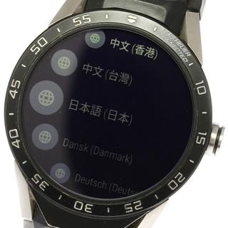 TAG Heuer - ★箱・保 タグホイヤー コネクテッド  SAR8A80 メンズ 【中古】