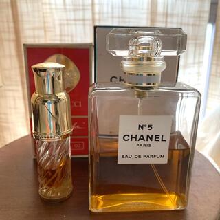 シャネル(CHANEL)のシャネル N゜5 オードゥ パルファム 100ml & ニナリッチ ファルーシュ(香水(女性用))