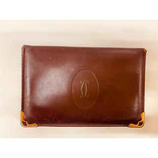 カルティエ(Cartier)のカルティエ 名刺入れ カード入れ 財布(名刺入れ/定期入れ)