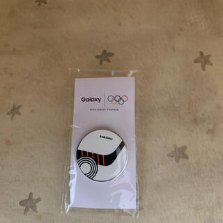ギャラクシー(Galaxy)の新品オリンピック SAMSUNG Galaxy  アイスホッケー ピンバッジ ①(バッジ/ピンバッジ)