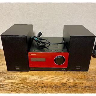 パイオニア(Pioneer)のPioneer コンポ X-CM31-R [レッド](アンプ)