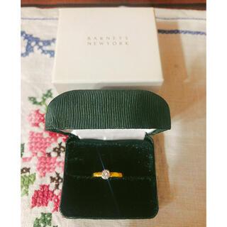 バーニーズニューヨーク(BARNEYS NEW YORK)のマルコムベッツ ダイヤモンド リング 22KYG MIZUKI makri(リング(指輪))