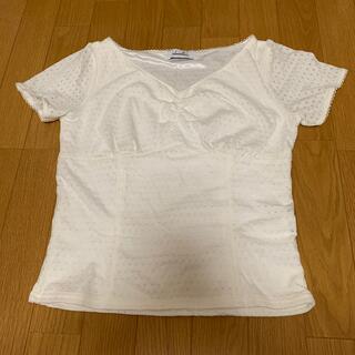 ダズリン(dazzlin)のdazzlin 白Tシャツ(Tシャツ(半袖/袖なし))