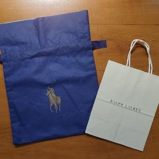 ポロラルフローレン(POLO RALPH LAUREN)のRalph Lauren ラッピング袋 紙袋 ショッパー(ショップ袋)