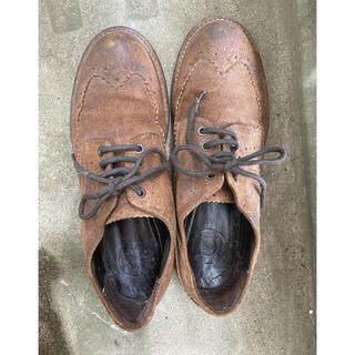 キープ(keep)のKeep キープ ウイングチップレザーシューズ レースアップシューズ 39(ローファー/革靴)