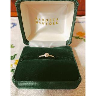 バーニーズニューヨーク(BARNEYS NEW YORK)のマルコムベッツ プラチナ ダイヤモンド リング MIZUKI makri ダイヤ(リング(指輪))
