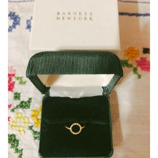 バーニーズニューヨーク(BARNEYS NEW YORK)のileana makri イリアナマクリ18Kダイヤリング MIZUKI ダイヤ(リング(指輪))