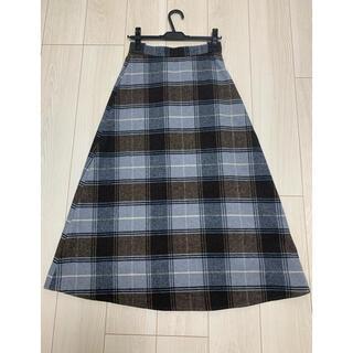 エージーバイアクアガール(AG by aquagirl)の美品 agby aquagirl ロングスカート エージーバイアクアガール (ロングスカート)