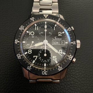 シン(SINN)のsinn 103 B.AUTO クロノグラフ(腕時計(アナログ))