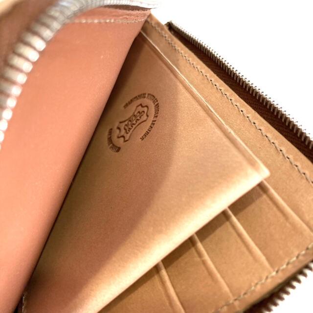 WHITEHOUSE COX(ホワイトハウスコックス)の【希少モデル】ホワイトハウスコックス ヴィンテージブライドルレザー L型財布 メンズのファッション小物(コインケース/小銭入れ)の商品写真