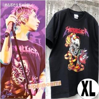 ワンオクロック(ONE OK ROCK)のXL)半袖 2015 metallica heart ロックT(Tシャツ/カットソー(半袖/袖なし))