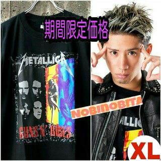 ワンオクロック(ONE OK ROCK)のXL◇半袖/ METALLICA×GunsN'Roses(Tシャツ/カットソー(半袖/袖なし))