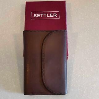 WHITEHOUSE COX - 【美品】セトラー【Settler】三つ折り財布