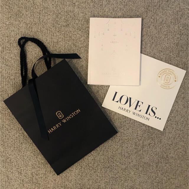 HARRY WINSTON(ハリーウィンストン)のハリーウィンストン ジュエリーカタログ レディースのバッグ(ショップ袋)の商品写真