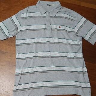 アベイシングエイプ(A BATHING APE)のAPE ポロシャツ MADE WITH GENERAL 古着 サイズL BAPE(ポロシャツ)