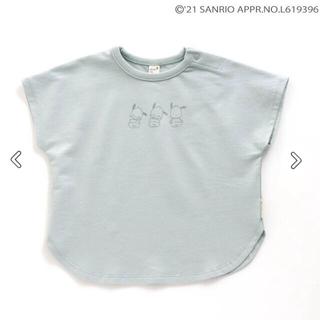 サンリオ(サンリオ)の新品未開封!アプレクレール ポチャッコ かくれんぼTシャツ 80  サンリオ(Tシャツ)