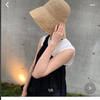 プラージュ(Plage)のプラージュ帽子(麦わら帽子/ストローハット)