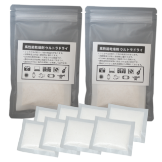 高性能乾燥剤 ウルトラDRY 除湿 乾燥 防カビ 防サビ 14g×8個