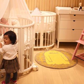 キャラメルベビー&チャイルド(Caramel baby&child )の【稀少】june little closet チェックスカート(スカート)