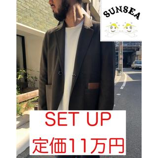 サンシー(SUNSEA)のSunsea 定価11万円 18aw N.M brushed set up(セットアップ)