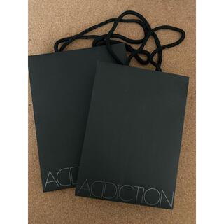 アディクション(ADDICTION)のショップ袋 アディクション(ショップ袋)
