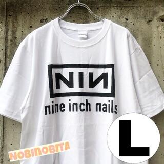 フィアオブゴッド(FEAR OF GOD)のL 半袖T/Nine inch nails  NINロゴ ロックT(Tシャツ/カットソー(半袖/袖なし))