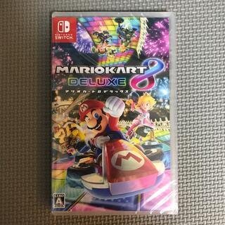 ニンテンドースイッチ(Nintendo Switch)の【新品未使用】マリオカート8 デラックス Switch(家庭用ゲームソフト)