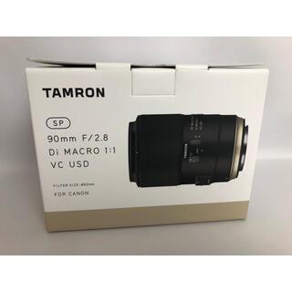 TAMRON - 展示品  タムロン 90mm f2.8 キヤノン用 F017E 送料込