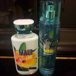 バスアンドボディーワークス(Bath & Body Works)のMAUI mango surf hibiscus beach マウイ マンゴー(香水(女性用))