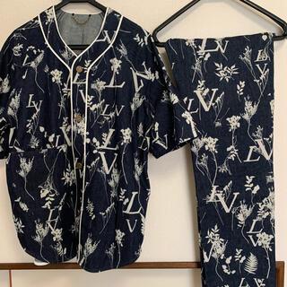 ルイヴィトン(LOUIS VUITTON)のlouis vuitton リーフデニム ベースボールシャツ レギュラーデニム(その他)