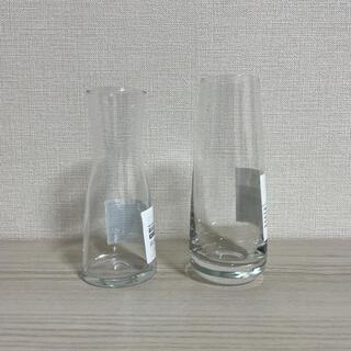 IKEA - IKEA イケア 花瓶 フラワーベース 2点セット B