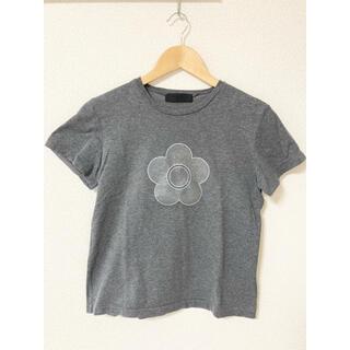 マリークワント(MARY QUANT)のマリークワント Tシャツ グレー シンプル(Tシャツ(半袖/袖なし))