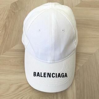 バレンシアガ(Balenciaga)のキャップ 帽子 バレンシアガ BALENCIAGA ホワイト 白(キャップ)