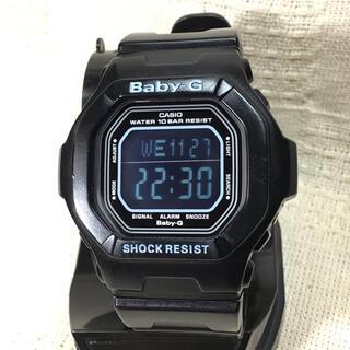 ベビージー(Baby-G)の希少なブラック液晶モデルBaby-G  カシオ腕時計 ベビーG腕時計 CASIO(腕時計)