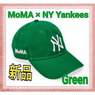モマ(MOMA)の【新品】 MOMA x Yankees New Era Capグリーン(キャップ)