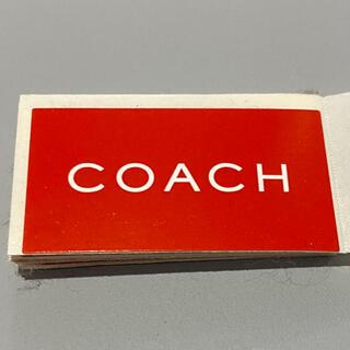 コーチ(COACH)のCOACH 【ステッカー】 コーチ★シール(シール)