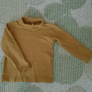 ムジルシリョウヒン(MUJI (無印良品))の無印良品タートルネックカットソー110(Tシャツ/カットソー)