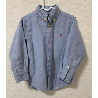ポロラルフローレン(POLO RALPH LAUREN)のラルフローレン サイズ100 長袖シャツ(ブラウス)