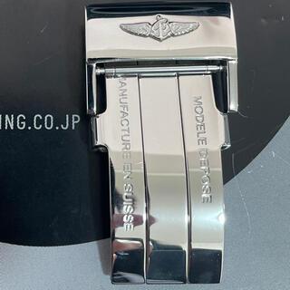 ブライトリング(BREITLING)の20mm!BREITLING ブライトリング Dバックル レザーベルト(レザーベルト)