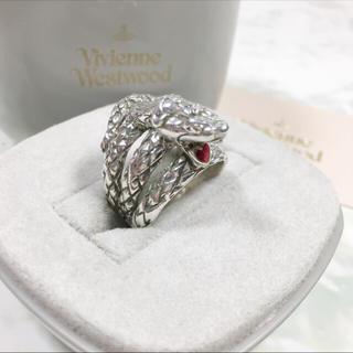 ヴィヴィアンウエストウッド(Vivienne Westwood)のVivienne Westwood ヴィヴィアン リング スネーク ヘビ 指輪(リング(指輪))