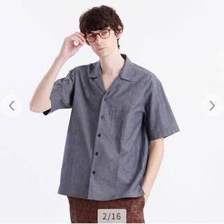 マッキントッシュフィロソフィー(MACKINTOSH PHILOSOPHY)の値下げ。マッキントッシュフィロソフィー オープンカラーシャツ  オーバーサイズ(シャツ)