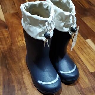 ムジルシリョウヒン(MUJI (無印良品))の新品 MUJI 無印良品 レインシューズ 長靴 レインブーツ キッズ(長靴/レインシューズ)