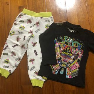 ロデオクラウンズ(RODEO CROWNS)のロデオクラウンパンツ と パーティパーティ長袖90サイズ(パンツ/スパッツ)