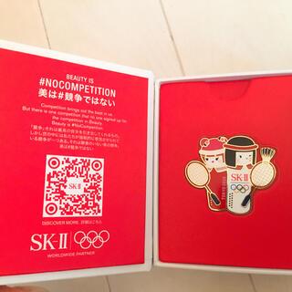 エスケーツー(SK-II)のskⅡ オリンピックピンバッジ 新品(バッジ/ピンバッジ)