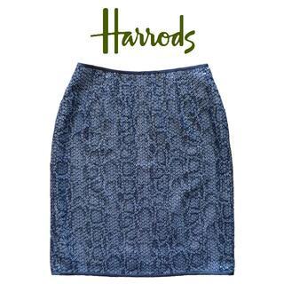 ハロッズ(Harrods)のHarrods スパンコール スカート ☆美品 ハロッズ(ひざ丈スカート)