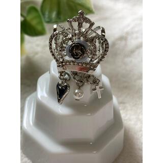 アクシーズファム(axes femme)のaxes femme 王冠 リング指輪 シルバー フリーサイズ(リング(指輪))