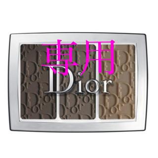ディオール(Dior)の新品 ディオール バックステージ ブロウ パレット 002(パウダーアイブロウ)